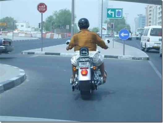 Mallu on a Harley – Harley Davichen !