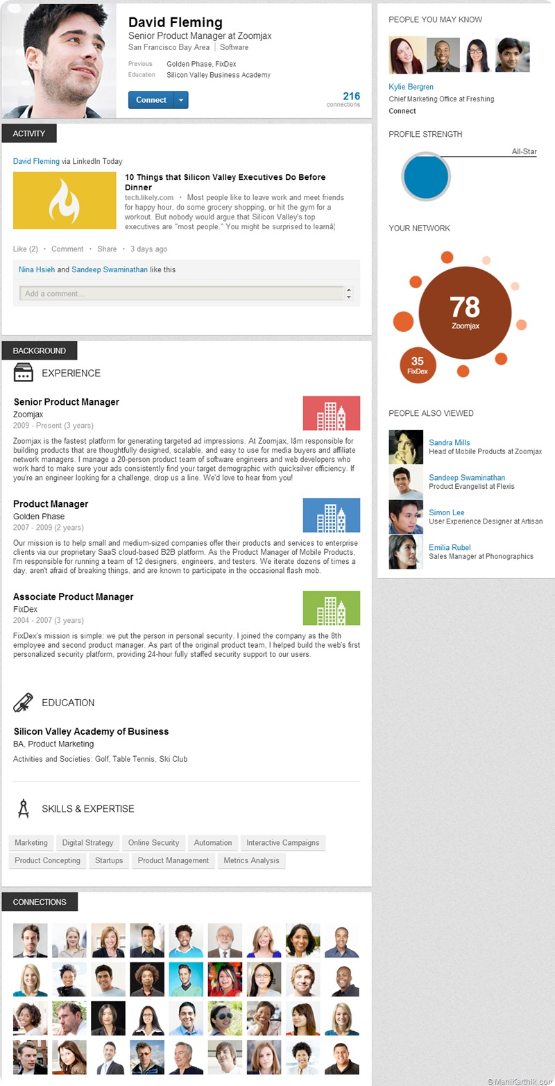 New-LinkedIn-Profile