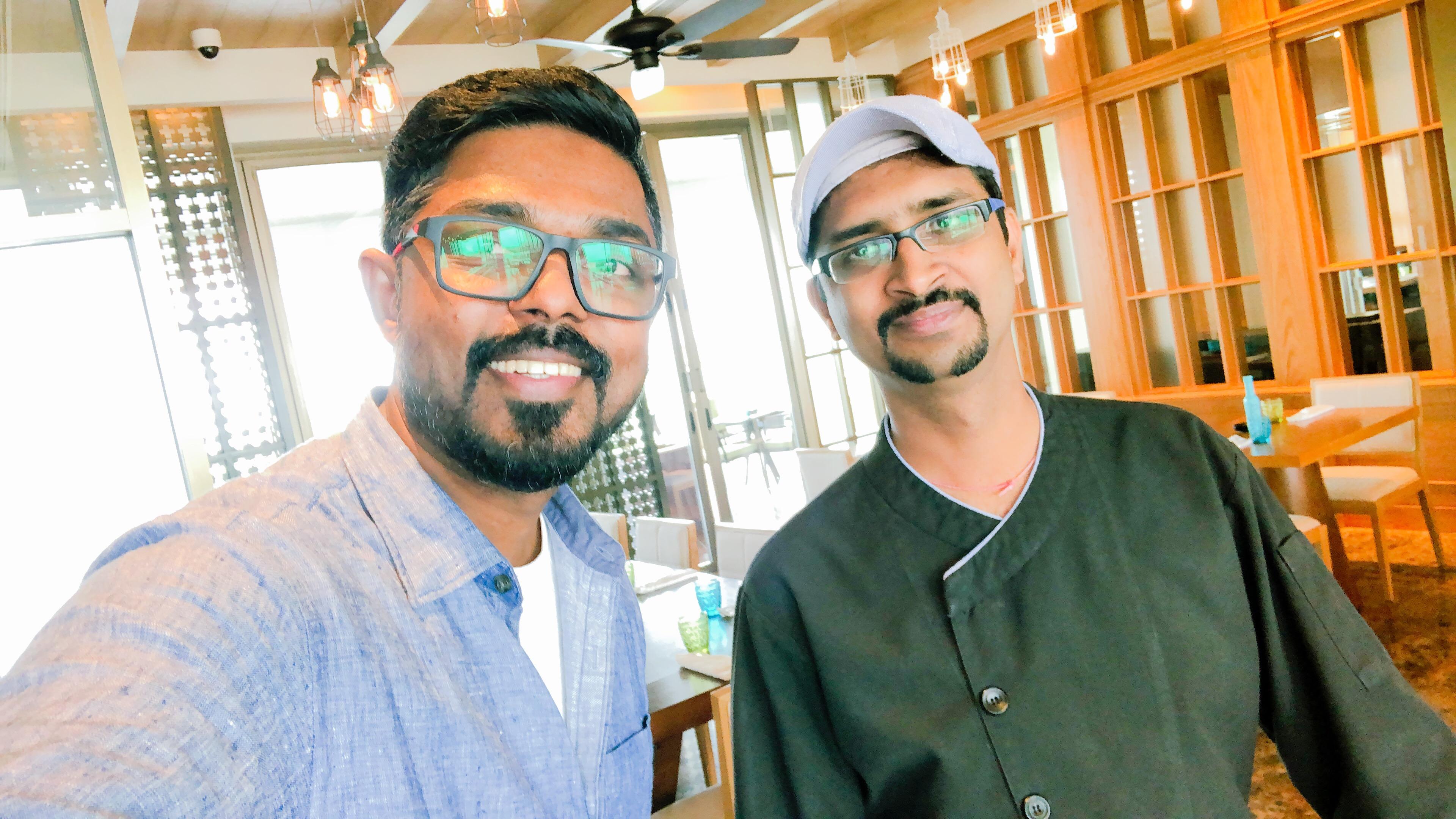 Chef Prakash at Grand Hyatt Kochi Bolgatty