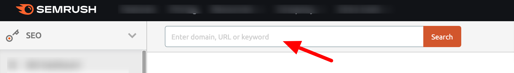 How to do keyword research with SEMrush